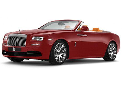 Rolls-Royce Dawn Ensine Red Color