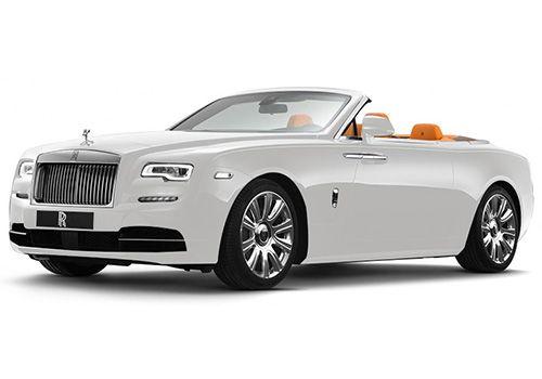 Rolls-Royce Dawn Ensine White Color