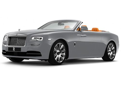 Rolls-Royce Dawn Jubilee Silver Color