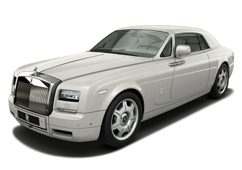 Rolls-Royce Phantom Cornish White Color