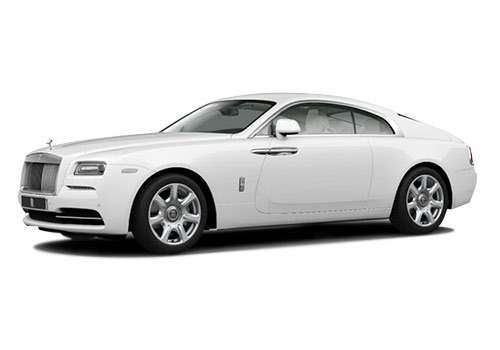 Rolls-Royce Wraith Arctic White Color