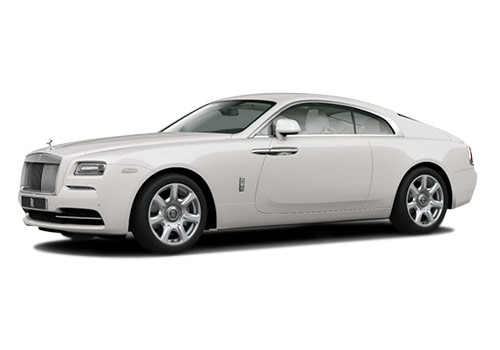 Rolls-Royce Wraith English White Color
