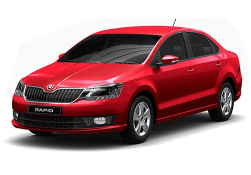 Skoda RapidFlash Red Color