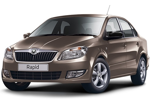 Skoda Rapid Toffee Brown Color