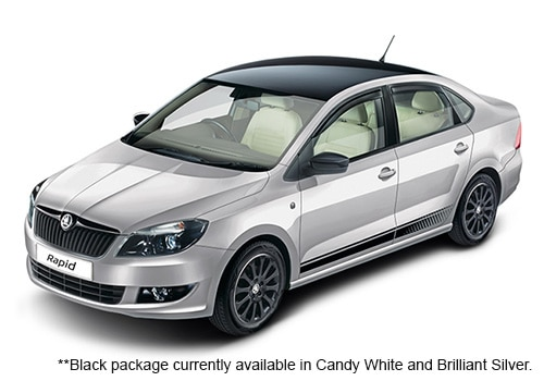 Skoda Rapid Brilliant Silver Color