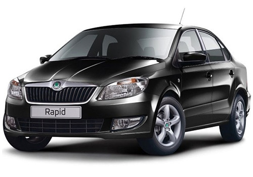 Skoda Rapid Deep Black Pearl Color