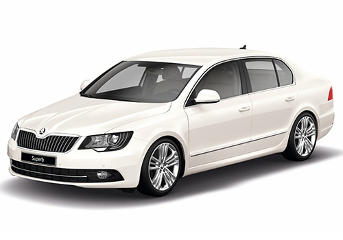 Skoda SuperbCandy White Color