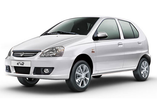 Tata Indica eV2Porcelain White Color