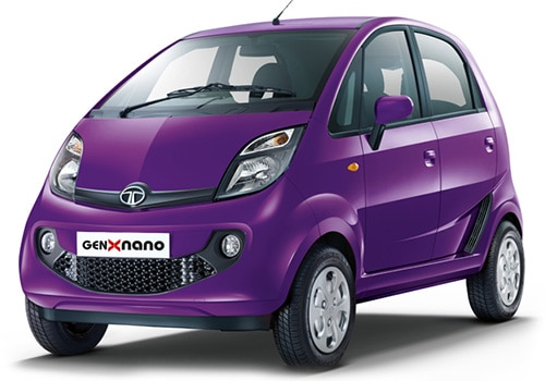 Tata Nano Damson Purple Color