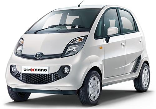 Tata Nano Pearl White Color