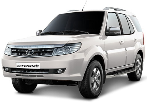 Tata Safari Storme Pearl White Color