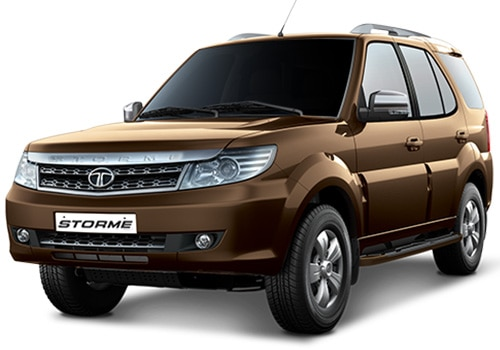 Tata Safari Storme Urban Bronze Color