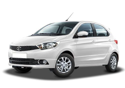 Tata Tiago Pearlescent White Color