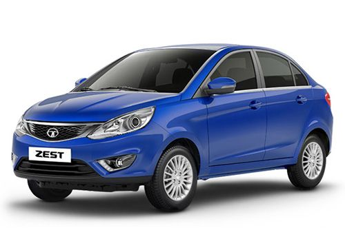 Tata Zest Buzz Blue Color