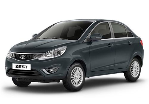 Tata Zest Sky Grey Color