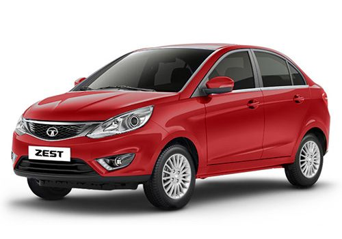 Tata Zest Venetian Red Color
