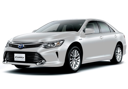 Toyota Camry White Pearl Crystal Shine Color