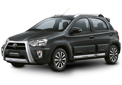 Toyota Etios CrossClassic Grey Color