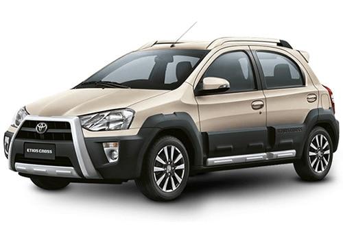 Toyota Etios Cross Harmony Beige Color