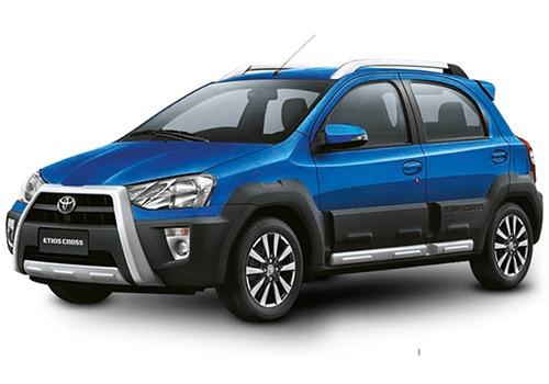 Toyota Etios Cross Ultramarine Blue Color