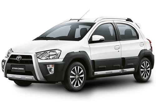 Toyota Etios Cross White Color
