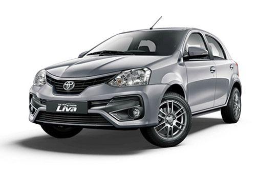 Toyota Etios LivaSilver Mica Metallic Color