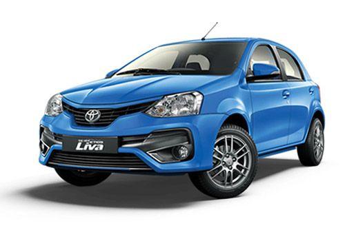 Toyota Etios Liva Ultramarine Blue Color