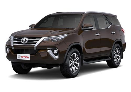 Toyota FortunerPhantom Brown Color
