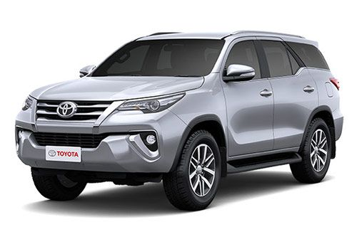 Toyota FortunerSilver Metallic Color