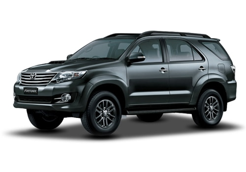 Toyota Fortuner Grey Mica Metallic Color