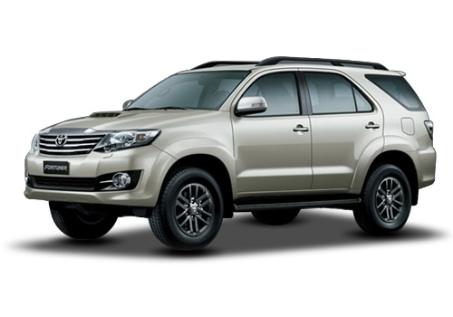Toyota Fortuner Silky Gold Mica Metallic Color