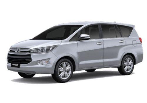 Toyota Innova Crysta Silver Color