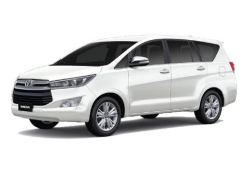 Toyota Innova Crysta White Pearl Crystal Shine Color