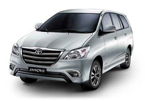 Toyota Innova Silver Metallic Color