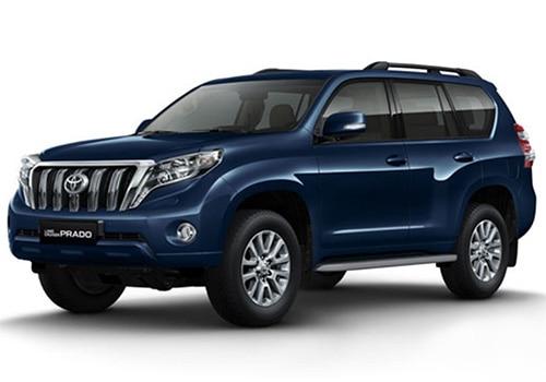 Toyota Land Cruiser Prado Dark Blue Metallic - LC Prado Color