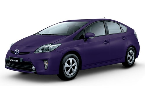 Toyota Prius Bordeaux-Mica-Metallic Color