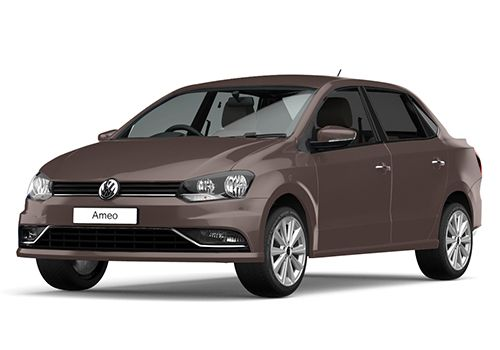 Volkswagen Ameo Toffee Brown Color