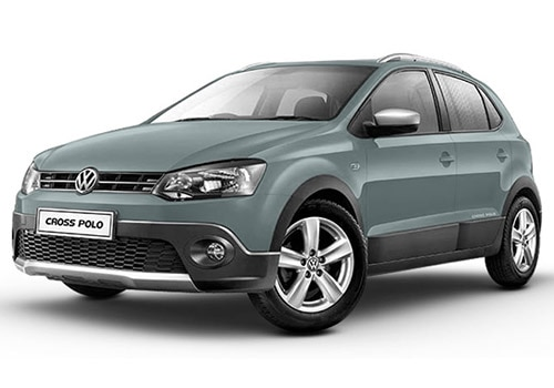 Volkswagen CrossPolo Reflex Silver Color