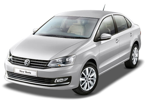 Volkswagen Vento Candy White Color