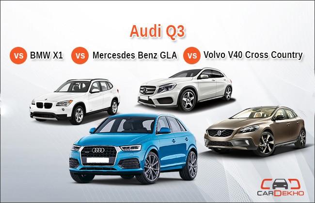 Competition Check Audi Q3 Vs Mercedes Benz Gla Class Vs Bmw X1 Vs