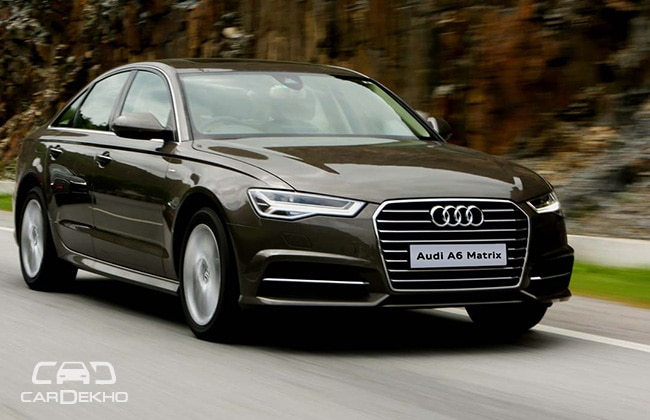 audi a6 matrix 2 0 tdi first drive. Black Bedroom Furniture Sets. Home Design Ideas