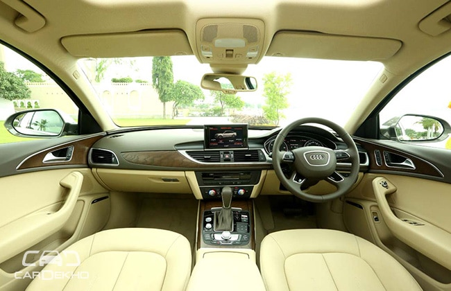 Interior Audi A6 All Informations You Needs
