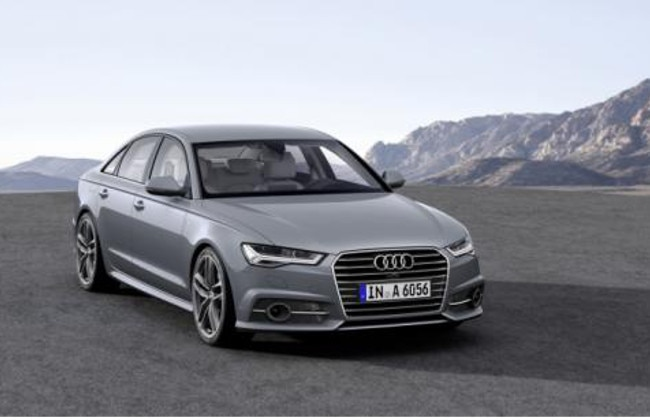 Audi A6 Facelift Showcased at Paris Motor Show