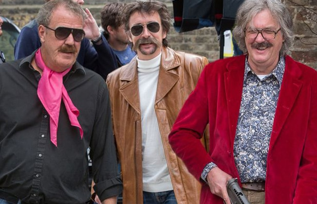 Jeremy Clarkson Richard Hammond And James To Be On Amazons New Car Show - Car show on amazon