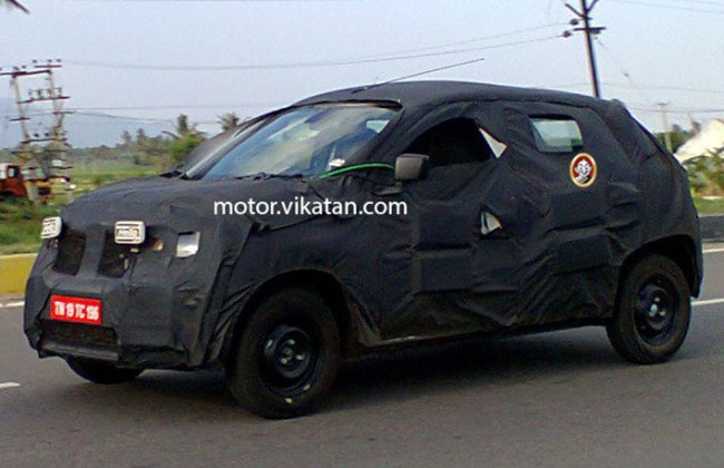 Renault will Make Global Debut of \'XBA\' Small Car on May 20th in India