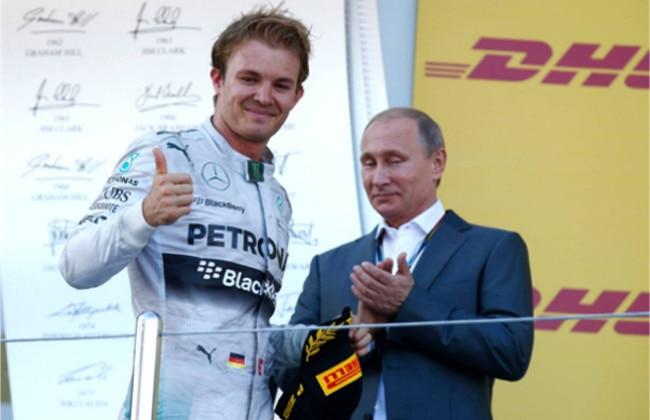 Hamilton wins the Russian Grand Prix, Rosberg Finishes Second