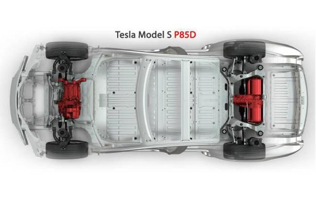 Tesla Models S P85D