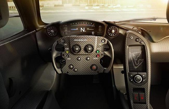 McLaren P1 GTR Interiors