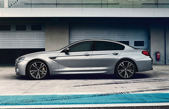 BMW M6 Gran Coupe SIde