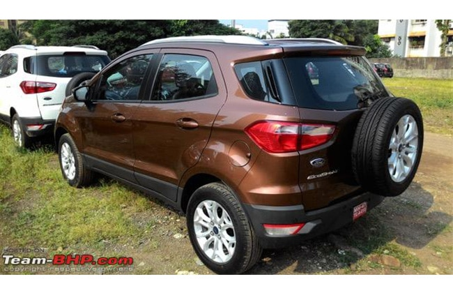 Ford EcoSport Update Side View